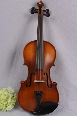 New 4/4 Electric Violin Powerful Sound ebony parts peg Left hand #1567