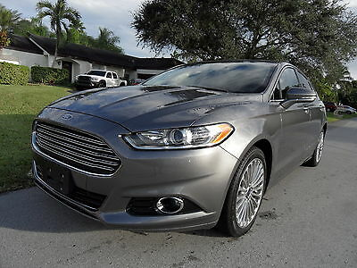 2014 Ford Fusion  TOP OF THE LINE! $19.3K CLEAN RETAIL! EVERY OPTION! ACCORD MAXIMA CAMRY 15 16