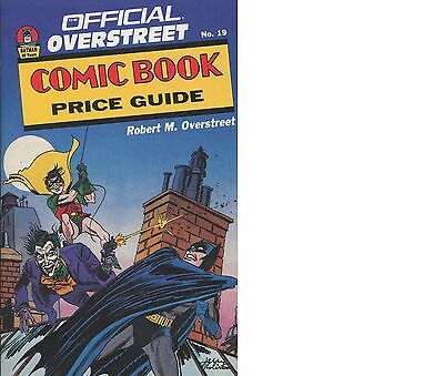 Overstreet Comic Book Price Guide No.19 BATMAN / DONALD DUCK HARD COVER / VG
