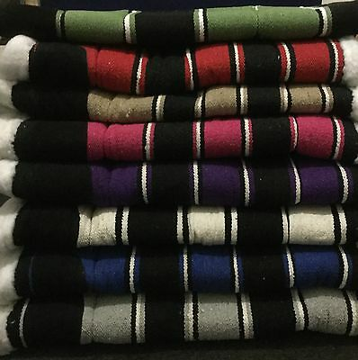 Western Saddle Pad Navajo Design Synthetic Wool Lining