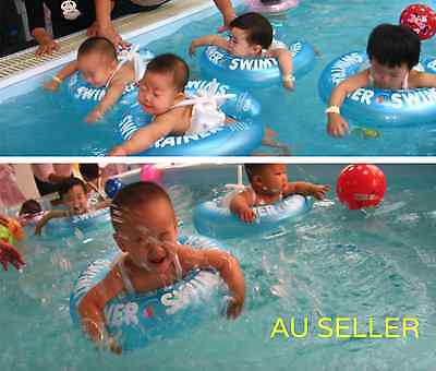 Baby Infant Swimming Pool Kids Underarm Trainer Float Tube Ring Inflatable Toy