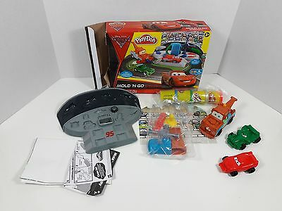 Play Doh Cars 2 Mold N Go Speedway Pixar 31956 Hasbro 2010 complete w play doh