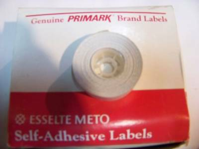 GENUINE 16,000 Meto Primark pricing gun white labels free shipping