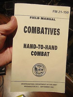 Combatives - Hand To Hand Combat - Field Manual