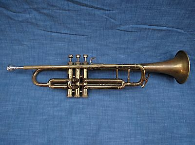 Vintage Harmony Trumpet - Made in FRANCE - Oiled - New Washers - NO CASE