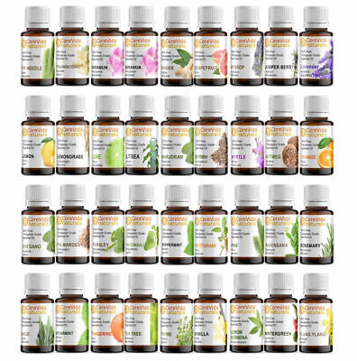 100% Pure Natural Essential Oils 1 oz (30ml)  - Choose From 60 - FREE SHIPPING