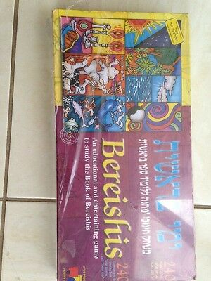 Brand New In Box Bereishis Game By Isratoys. Extremely Rare & Htf
