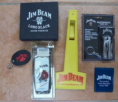 Selection Of 6 Jim Beam Collectable Items Most New