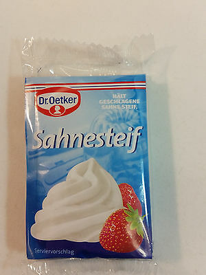 Dr.Oetker - 5x Sahnesteif - 0.28oz - 8g - MADE IN GERMANY