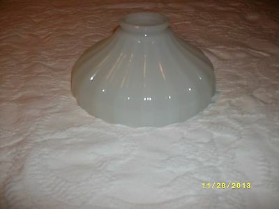 Antique glass sconce Opaque white light globe vintage lighting fixture accesory