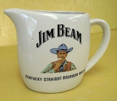 Vintage Small Jim Beam Water Jug Cowboy Design Excellent Condition Rare