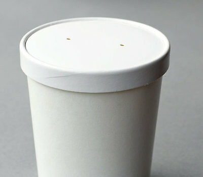 Paper Cup~Large Ice Cream Cup / Soup Container 450ml~Take Out Container(12 Pack)