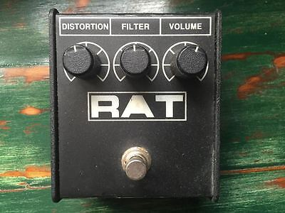 ProCo RAT Overdrive Distortion Fuzz Guitar Pedal