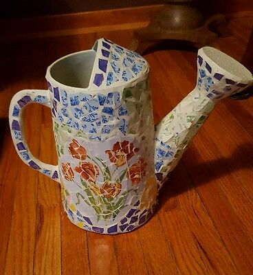 Decorated Mosaic (Trencadís) Vintage Watering Can