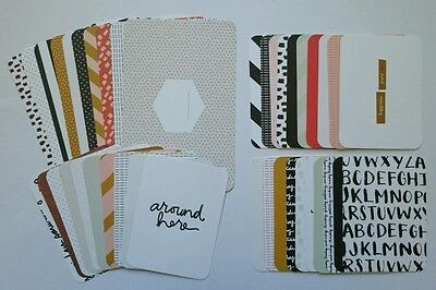 *Popular Design* Project Life 'Everyday' Edition PARTIAL Kit 6x4 3x4 Cards
