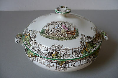 Spode 'Byron' 1950's Tureen. Mint Condition.