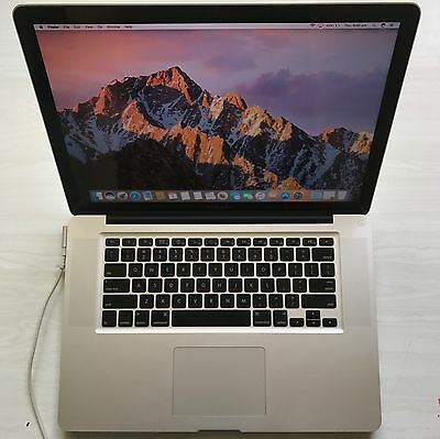 Early 2011 Apple MacBook Pro 15"