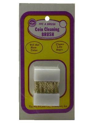 Nic-A-Brush, Coin Cleaning Brush, 2 pack