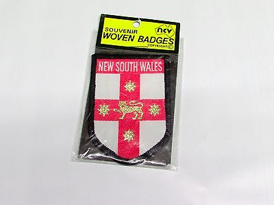 Vintage New South Wales Cloth Patch By Nucolorvue Ncv New Rare