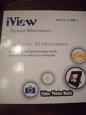 IVIEW  8 TFT  LCD vidéo , music , photo (  sd , usb  ...