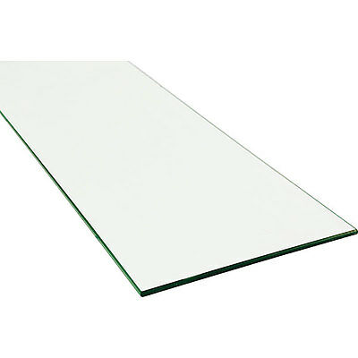 "Pack of 10 New Showcase Plate Glass Shelf 34""w x 12""d x1/4"" thick"
