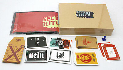 2016 New Funny Cards of Secret Hitler For Makers Party Bithday Game Xmas Gift