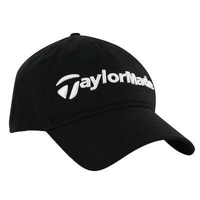 TaylorMade Tour Black Golf Cap - Adjustable rear tab