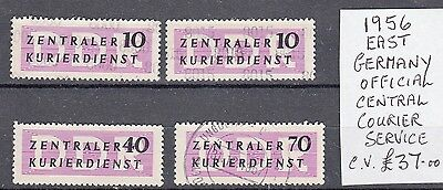 East German courier stamps