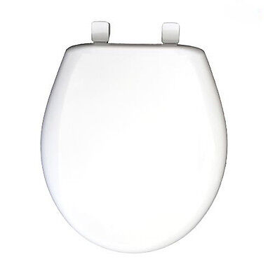 Excellent Church White Plastic Round Slow Close Toilet Seat Easy Clean Ncnpc Chair Design For Home Ncnpcorg