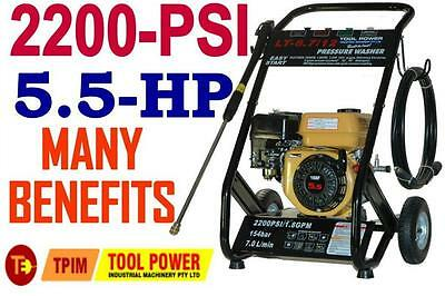 PRESSURE CLEANER NEW 5.5-HP, Max-3400psi with H/D TURBO