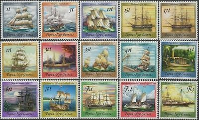 Papua New Guinea 1987 SG543 Historical Ships series MNH