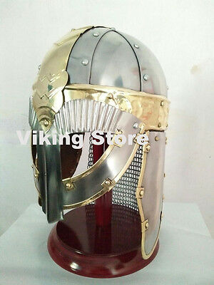 Wearable Medieval Armour Norman Viking Roman Knight Helmet Larp Collectible