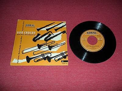 Bob Crosby and his Orchestra TOP RARE EP Jazz St Louis Blues - High Society + 2
