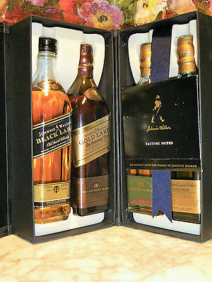 WHISKY JOHNNIE WALKER  THE COLLECTION 4 x 20cl BOX LIMITED EDITION