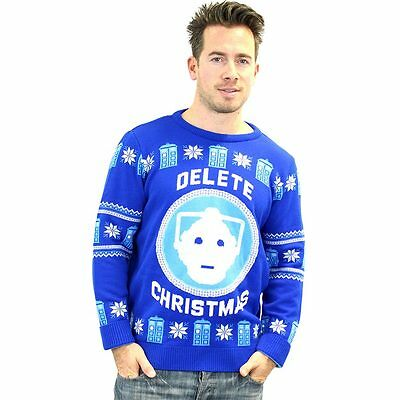 Doctor Who Official BBC Christmas Jumper / Sweater