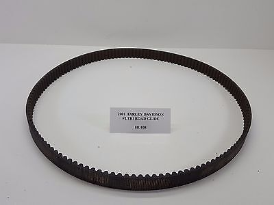 "2001 Harley FLTR Touring Road Glide Drive Belt 139T 1-1/2"" NICE used 97-03 HD108"