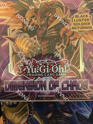 Yu-Gi-Oh! Dimension Of Chaos Booster Box Factory Sealed DOCS