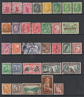 New Zealand selection. Victoria-QE II. Nice used with nice cancels.