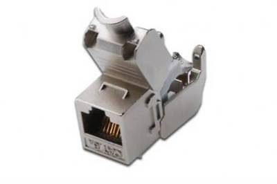 Dn93615 Digitus Inserto Jack Schermato Rj45 Cat 6A Toolfree