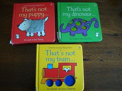 THAT'S NOT MY... BOOKS x 3