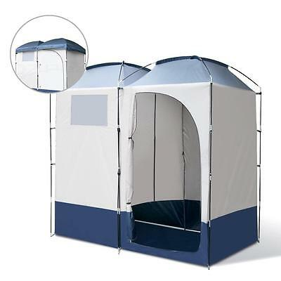 Weisshorn Double Portable Shower Toilet Change Room Ensuite Tent Camping Pop Up