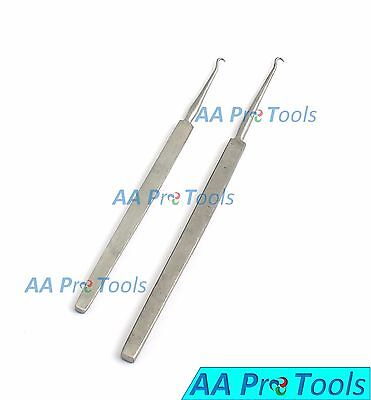 AA Pro: 2 Gillies Skin Hooks Small & Large Retractor Surgical Instruments Supply