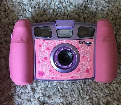Tech Kidizoom Pink Camera And Camera Case