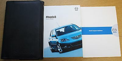 Mazda 3 Handbook Owners Manual Wallet 2003-2006 Pack 12926