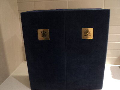 Wine case Limited Edition Armorial Bearings Prince of Wales & Earl of Spencer