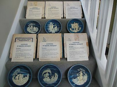 Voyage of Ulysses Bradford Exchange Plates Incolay Stone Limited Edition