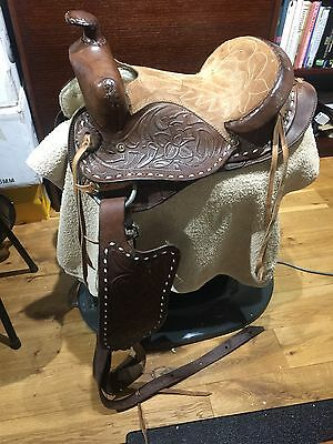 """Western Saddle Approx 12"""" Seat"""