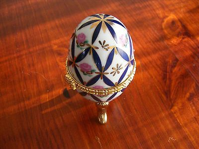 Russian Collectable Egg Trinket