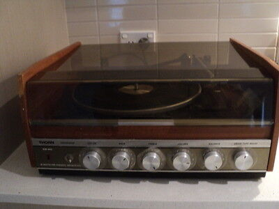 Vintage Thorn Model 1408 MK 2 turntable with 16, 33, 45 & 78 rpm