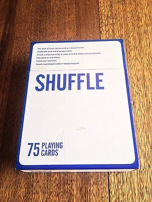 Shuffle Christian Marclay Cards Rare Sound Art Book 2007 Limited Edition